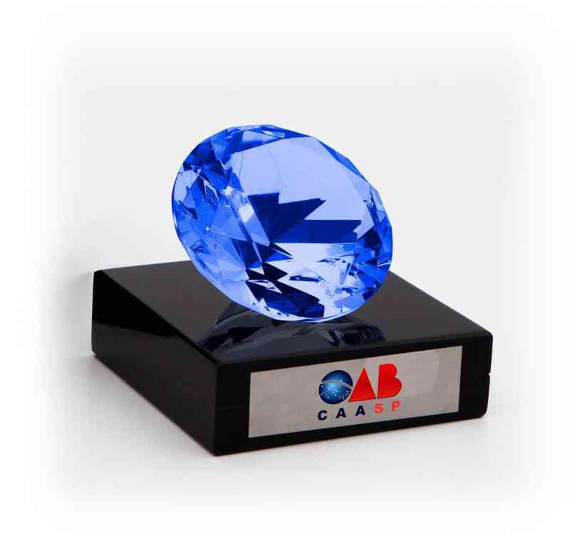 Peso Diamante Azul